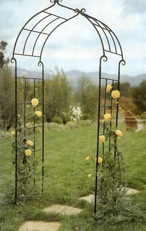 Дуга для цветов своими руками фото