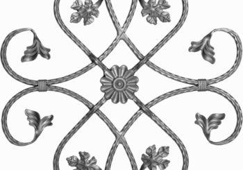 Розетки кованые
